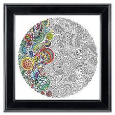 """Stickbild """"Ornaments"""" Zenbroidery – Die Kunst des freien Stickens"""