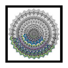 """Stickbild """"Mandala"""" Zenbroidery – Die Kunst des freien Stickens"""