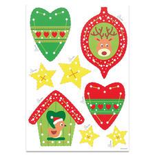 """Weihnachts-Anhänger """"Elch & Vögelchen"""" """"Meine ersten Weihnachts-Anhänger"""" – für Kinder ab 3 Jahren."""