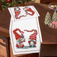 """Tischläufer """"Wichtel & Wichteline"""" Weihnachts-Trend 2016:"""