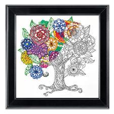 "Stickbild Zenbroidery ""Tree"""