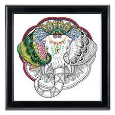 "Stickbild Zenbroidery ""Elephant"""