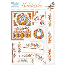 """Kreuzstich-Zählmuster-Vorlagen """"Herbstzauber"""""""