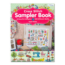"Stick-Buch ""Cross Stitch Sampler Book"""
