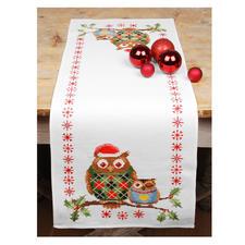 Weihnachtseulen, Tischläufer