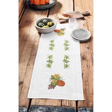 Tischläufer, 40 x 100 cm, Kürbis-Bouquet