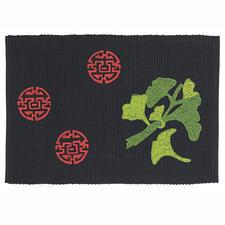 Baumwoll-Rippsets im asiatischen Flair Baumwoll-Rippsets und Partnerläufer.