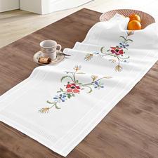 Tischläufer, 40 x 100 cm, Wiesenblumen