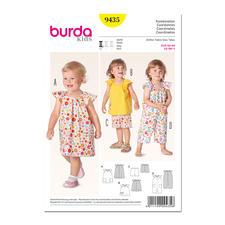 """Burda Schnitt 9435 """"Kombination"""" für Kids."""