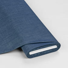 "Meterware ""Solid Smooth Denim"", Indigo Shadow Angesagter Denim-Style aus den USA"