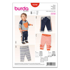 """Burda Schnitt 9398 """"Hose"""""""