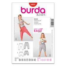 Burda Schnitt 9493 - Sarouelhose