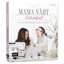 """Buch """"Mama näht und ich helfe mit""""."""