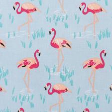 "Stoffzuschnitt - Flamingo Stoffzuschnitt ""Flamingo"""