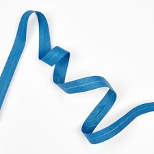 Baumwoll-Schrägband, Blau