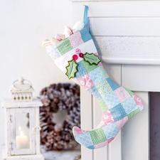 """Stiefel: Näh-Idee aus dem Buch """"Nähen für Weihnachten"""""""