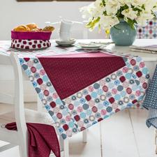 """Näh-Idee """"Tischläufer Retro"""" Tischläufer: Näh-Idee aus dem Buch """"So geht's – Tischdecken, Tischsets & Servietten nähen"""""""