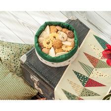 "Näh-Idee ""Brothülle Weihnachten"" Brothülle: Näh-Idee aus dem Buch ""Lieblingsstücke selbst genäht"""
