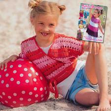 Wickelpulli aus Sabrina SK 016 Häkel-Maschen Strand-Geschichten