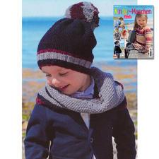 Mütze und Loop aus Sabrina SK 028 Kinder-Maschen Klassiker ganz aktuell