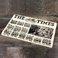 "Fußmatte ""The Times"""