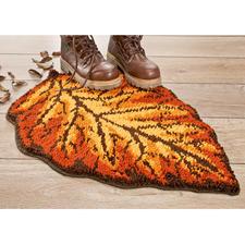 """Formteppich """"Herbstblatt"""" Pflegeleichte Fußmatte Herbstblatt."""