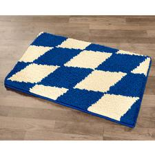 """Fußmatte """"Blau-Weiß"""""""
