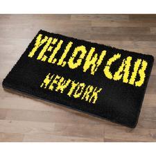 "Fußmatte ""Yellow Cab"""