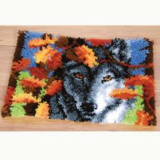 """Wandbehang """"Der Wolf"""""""