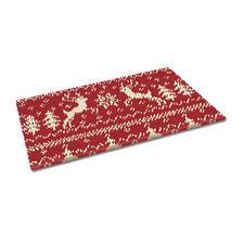 """Fußmatte """"Weihnachtszeit"""" Weihnachtliche Fußmatte."""