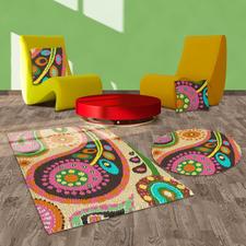 Teppich oder Kissen - Boteh