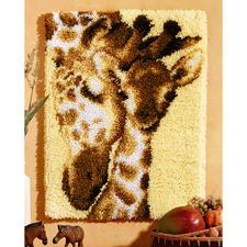 """Wandbehang """"Giraffen"""""""