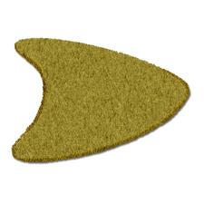 Form D (130 x 155 cm), Olive