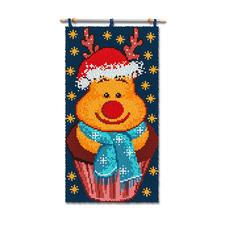 """Wandbehang """"Happy Muffin"""" Weihnachtliche Wandbehänge"""