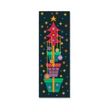 """Wandbehang """"Fröhliche Weihnacht"""" Bunte Weihnachten"""