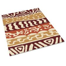 Stickteppich - Maori