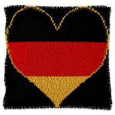 """Kissen """"Deutschland"""" Deutschland im Fußballfieber."""