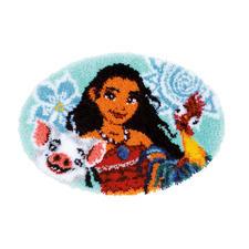 Knüpfteppich - Abenteuer Freunde Vaiana - DISNEY – Das Original