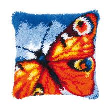 Knüpfkissen - Schmetterling Knüpfideen – schnell und leicht.