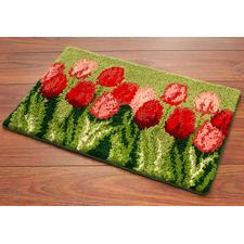 Fußmatte - Tulpengruß