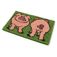 """Fußmatte """"Schweine"""""""