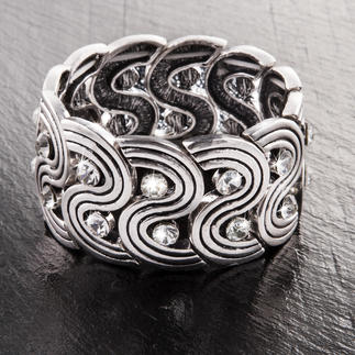Komplettpackung - Armband Metalloptik