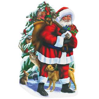 """Puzzle """"Weihnachtsmann"""" Ein Spaß für die ganze Familie – spannend und entspannend zugleich."""
