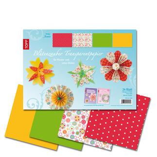 Blütenzauber Transparentpapier