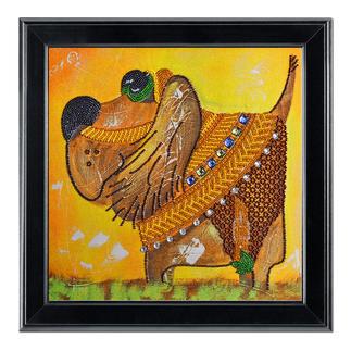 Bead-Art-Bild - Sancho Panza Bead Art – Bilder mit edlem Perlen-Effekt.