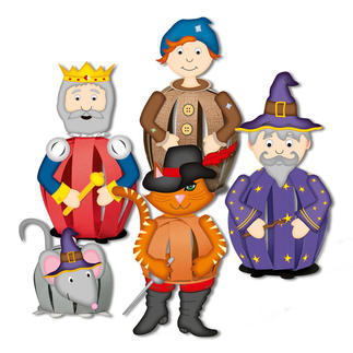 Funny Paper Balls - Märchen Funny Paper Balls – Ein lustiger Bastelspaß für alle Märchenliebhaber