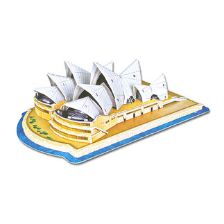 3D-Bauwerk - Sydney Opera House 3D-Bauwerke