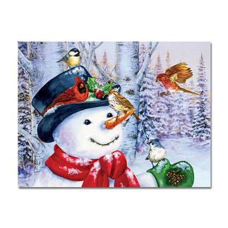 Puzzle - Süßer Schneemann Ein Spaß für die ganze Familie – spannend und entspannend zugleich.