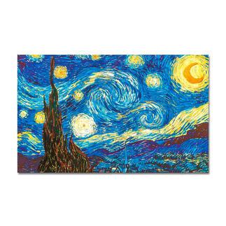 Puzzle - The Starry Night nach Vincent van Gogh Meisterwerke großer Künstler als Puzzle