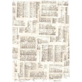 DDecoMaché Papier - Shabby Papier